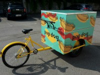 Wrapping bicicletta Pop Dog